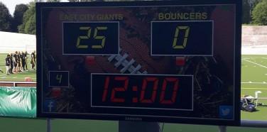 ECG otti tärkeän 25-0 voiton Bouncersista!